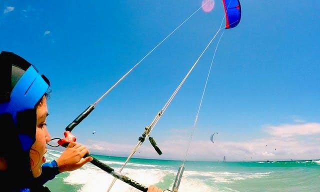 Beginner Kiteboarding Lesson with IKO Certified Teachers in Valdevaqueros