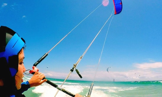 Beginner Kiteboarding Lesson With Iko Certified Teachers In Valdevaqueros