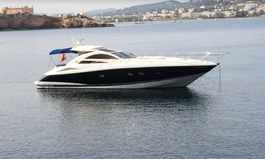 53' Sunseeker Portofino For Charter In Eivissa, Spain For 9 Persons