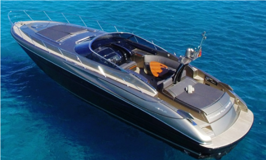 11 Persons 52' Riva Rivale Power Mega Yacht In Eivissa, Spain For Charter