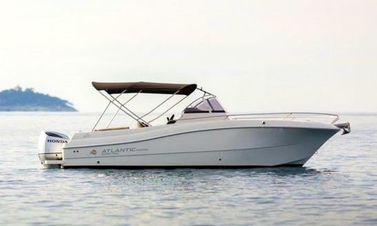 Rent Atlantic 750 Open Center Console In Sumartin, Brač