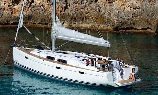 41' Hanse Cruising Monohull Charter In Sant Antoni De Portmany, Spain For Charter