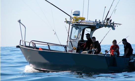 Striper And Tuna Fishing In Newbury, Massachusetts With Captain Jack
