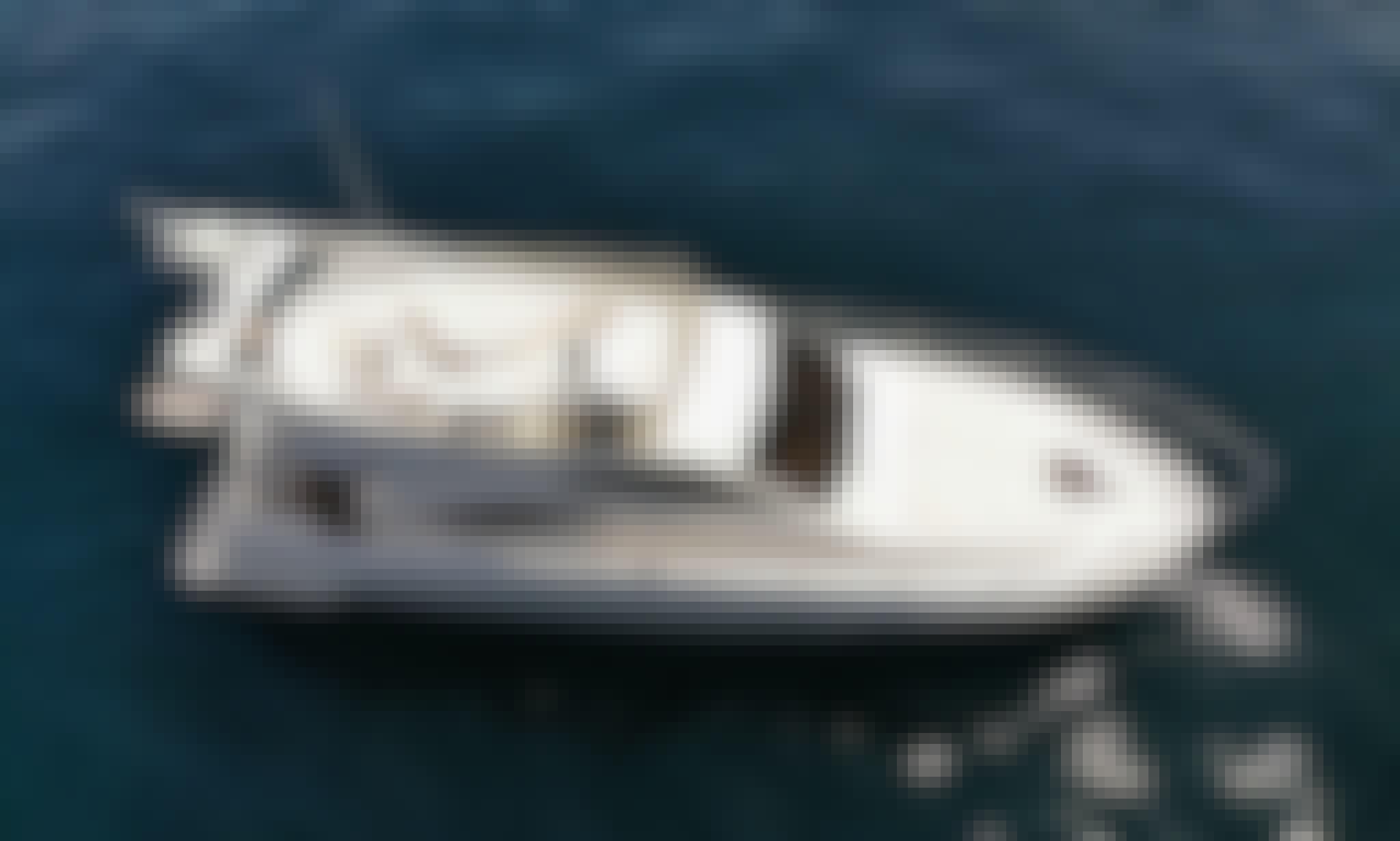 11 Person Ferretti 430 Motor Yacht Charter in Marbella, Andalucía