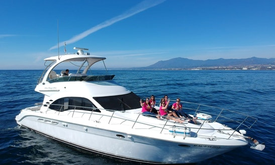 Sea Ray 525 Motor Yacht Rental In Marbella