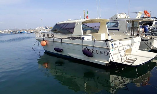 Deck Boat In Trapani