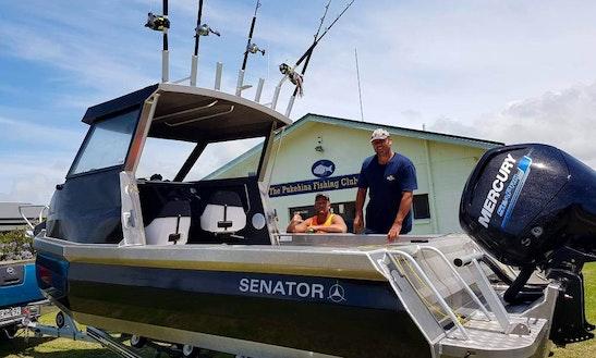 6m Senator Cuddy Cabin In Wellington