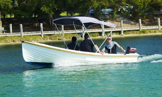 Bareboat Runabout For Hire In Forster