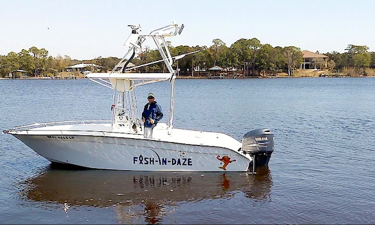 Let's Go Fishing In Destin, Florida On This 22ft