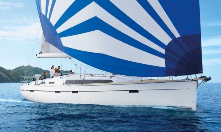 11 Persons 51' Bavaria Cruisier - Sommernatt Cruising Monohull in Sukošan, Croatia For Charter