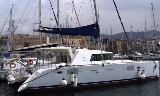 Cruise Along The Coast Of Palermo, Sicilia With This Lagoon 440