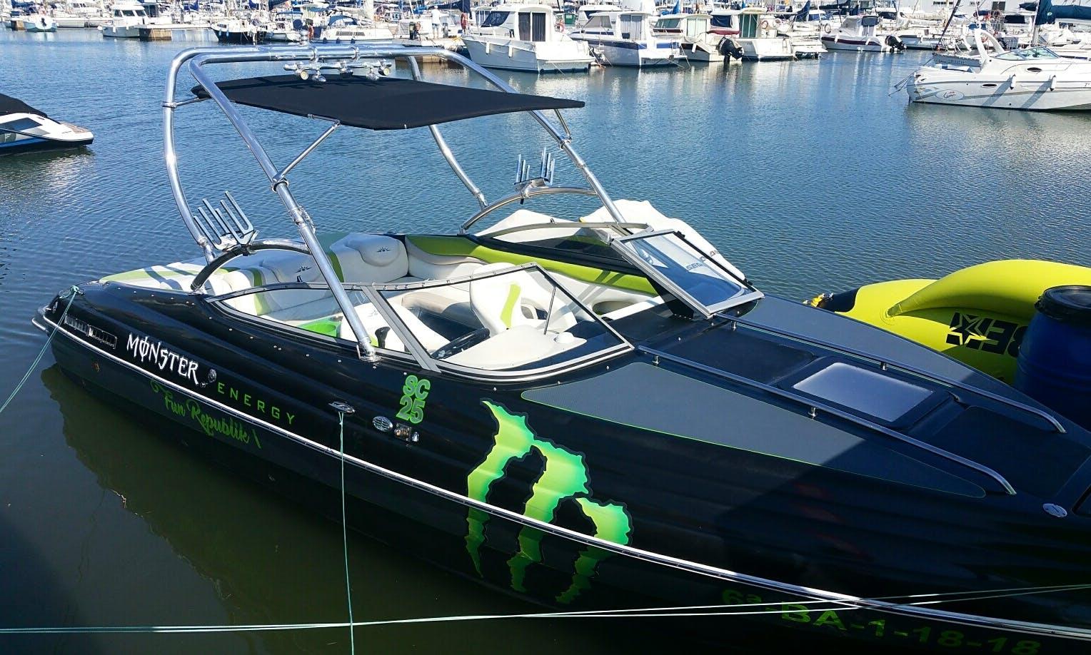 Hire the Monster 300cv for 10 People in Vilanova i la Geltrú, Spain