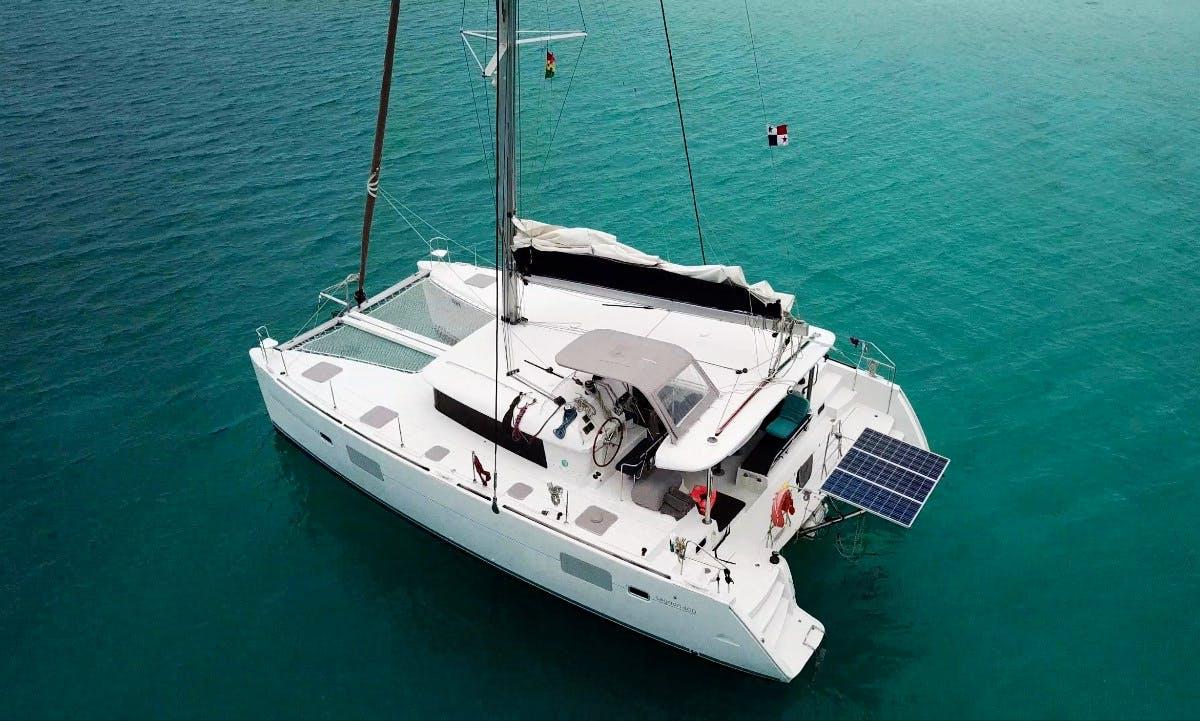 Cruising Catamaran rental San Blas, Panama