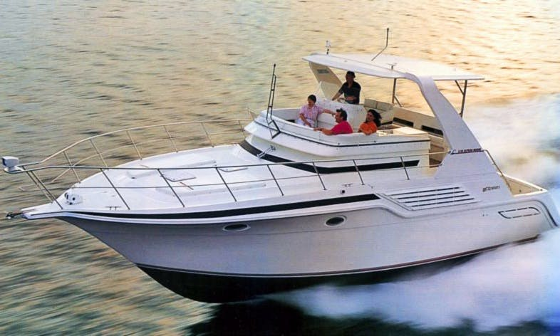 Have an amazing time on 44ft Cruiser Flybridge Motor Yacht in Puerto Vallarta, Mexico
