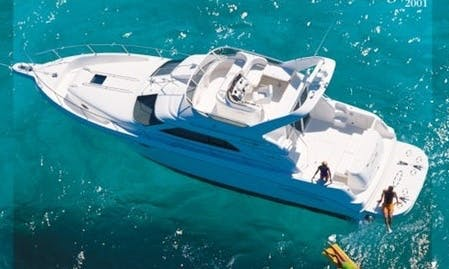 Hit the water on Sea Ray 46 Motor Yacht in Puerto Vallart, Mexico