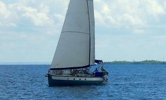 "Charter this 46ft ""Tupã"" Sailboat in Bahia, Brazil"