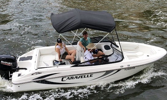New To The Water 2018 Caravelle Bow Rider