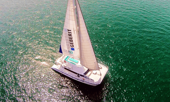 Charter 64 Feet Catamaran For 50 People In Dubai, United Arab Emirates