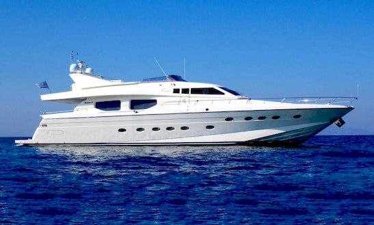 Charter The Yacht Of Your Dreams Possilipo Technema 80 In Dubai, United Arab Emirates