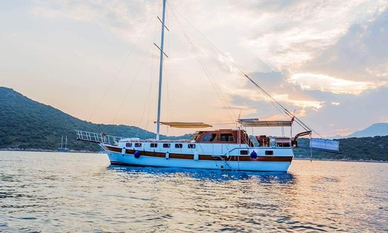 Explore Antalya, Turkey On 56' Akis Gulet