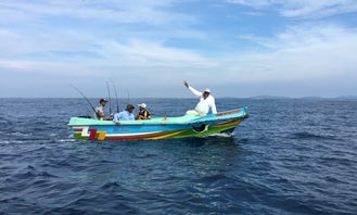 An amazing fishing experience in Colombo, Sri Lanka for 3 people