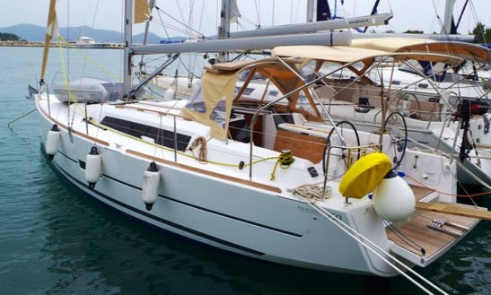 Explore Sukošan, Croatia On 35' Dufour - Pape Cruising Monohull For 8 Persons