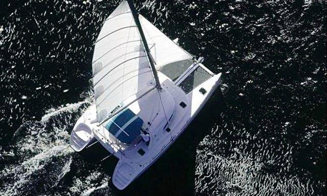 Charter this beautiful 40' Nautitech Cruising Catamaran in Toscana, Italy