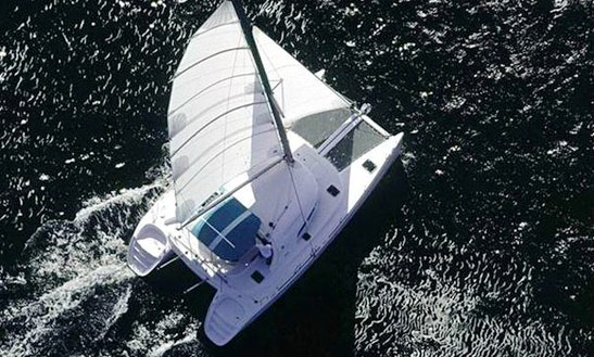Charter This Beautiful 40' Nautitech Cruising Catamaran In Toscana, Italy