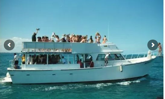 55′ Mega Boat Charter In Cancun, Quintana Roon For 90 People