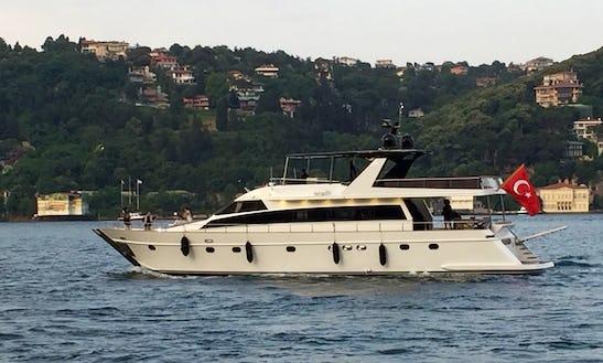 Power Mega Yacht Rental In İstanbul
