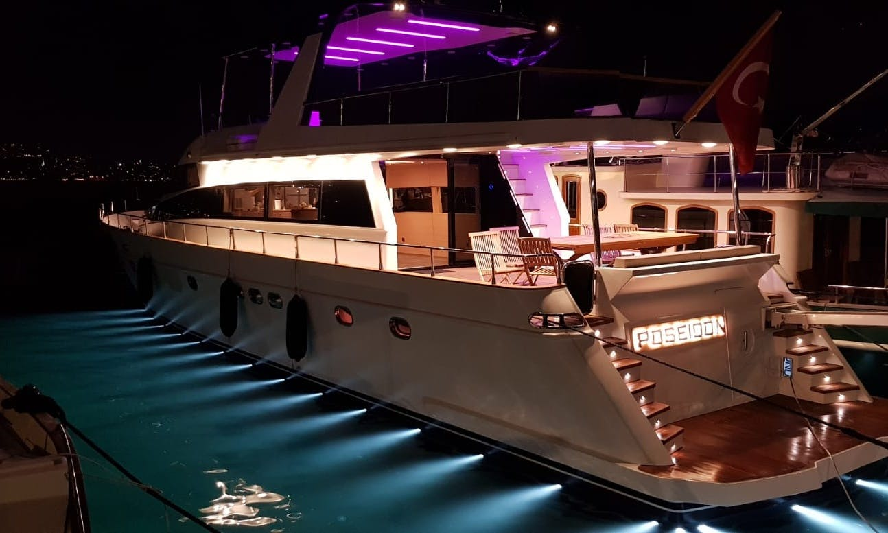 Take Luxury to the next level with this yacht rental in İstanbul