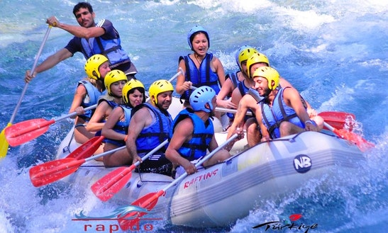 Have A Great Adventure With The Rafting In Antalya, Turkey For Up To 5 Persons