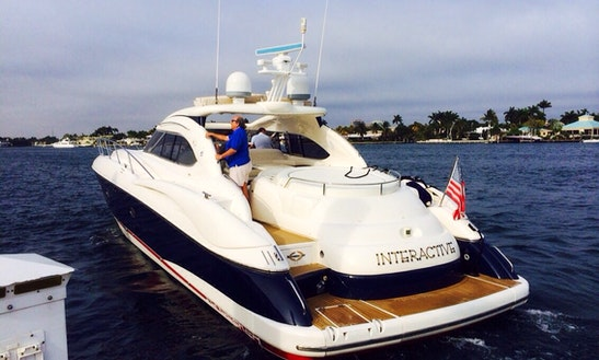 Charter This Sunseeker 60 For 15 People In Cancún, Quintana Roo