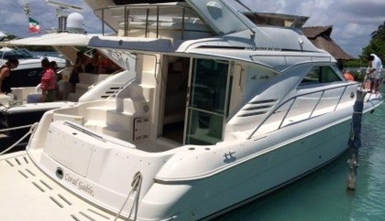 An Amazing Charter Experience In Cancún, Quintana Roo On Sea Ray 40 Motor Yacht