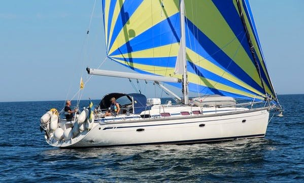 "Have an amazing time in Saltsjöbaden, Stockholms on ""Flora II"" Bavaria 46 Cruising Monohull"