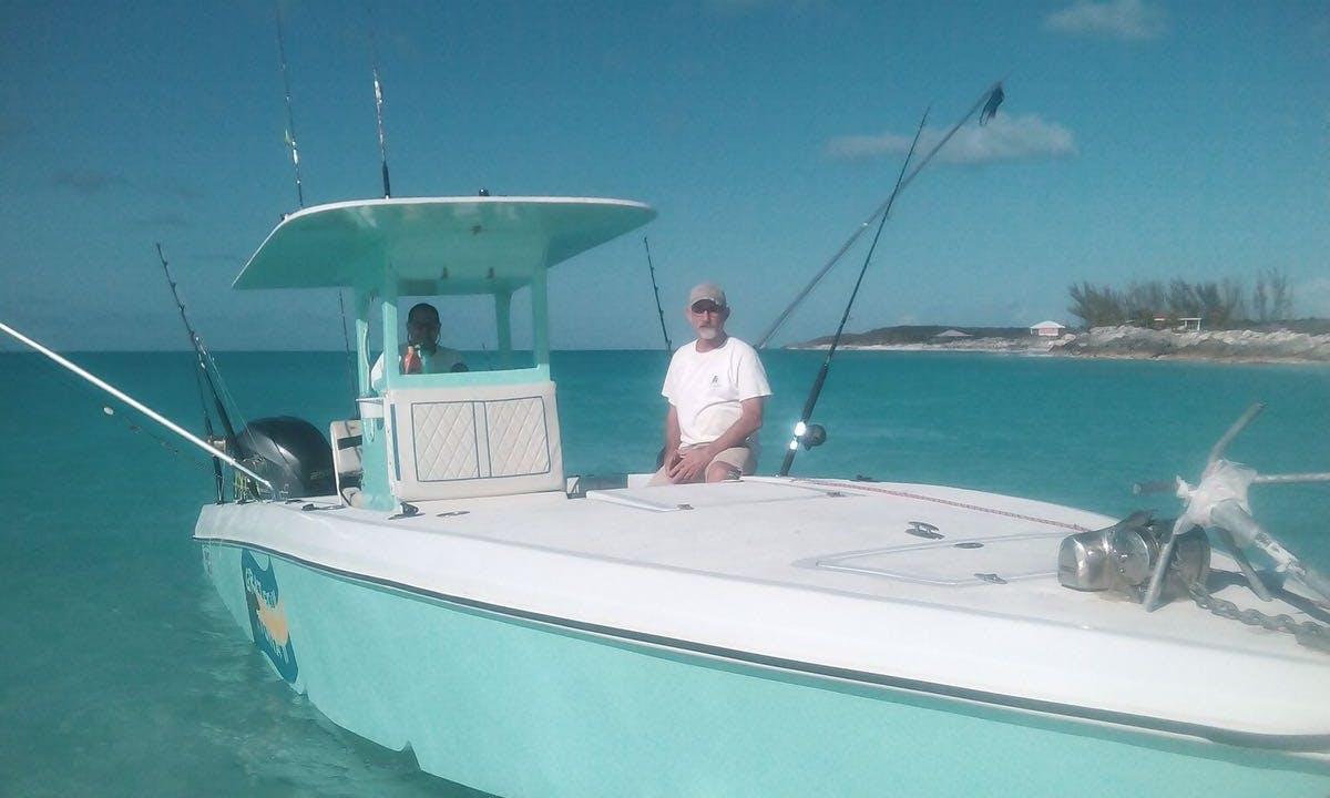 Spend a great day aboard Grateful Tuna 33' on Long Island, Bahamas
