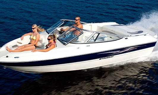 An amazing rental experience in Portorož, Slovenia on Stingray 208 LS Bowrider