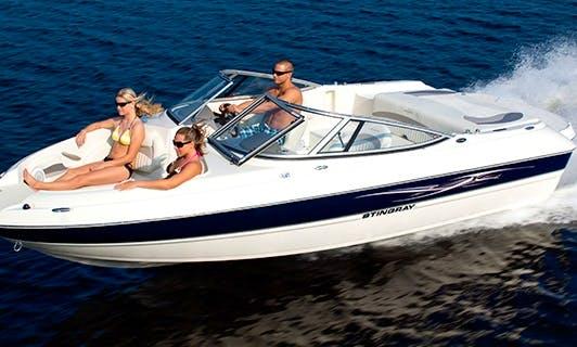 An amazing rental experience in Portorož, Slovenia on Stingray 208 LS Bowrider