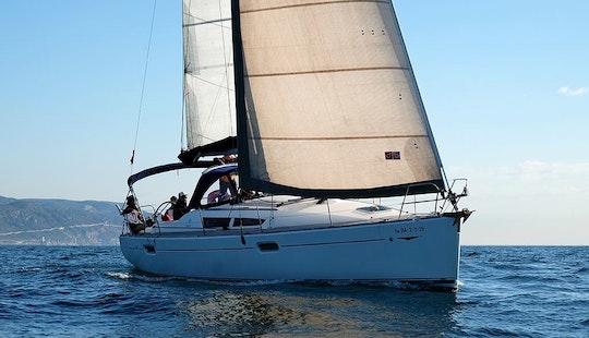 Discover Palamós, Catalunya On 39 Ft Jeanneau Sun Odyssey Cruising Monohull