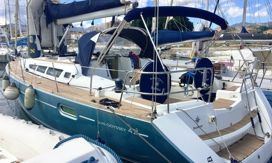 Charter The Yacht Of Your Dreams 42' Jeanneau Sun Odyssey Cruising Monohull In Palamós Catalunyan