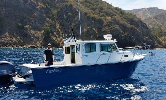 2530 Parker Sport Fishing Charter in Dana Point, California with Captain Tony