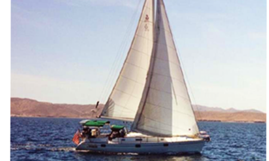 Sail Along California Coast Aboard This 40' Oceanis Luxury Sailboat With Captain Don