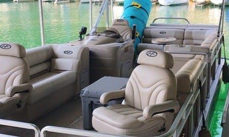 25ft Luxury Pontoon On Lake Travis!