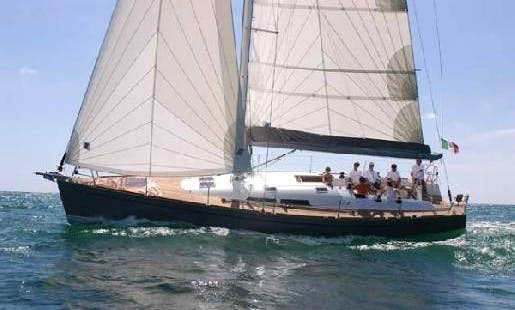 An amazing charter experience in Vibo Marina, Calabria on Comar - Comet 45 S Cruising Monohull