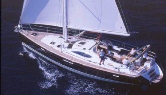 Have An Amazing Time In Vibo Marina, Calabria On Janneau Ds 54 Cruising Monohull