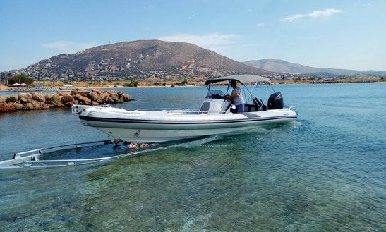 Hire A Marvel 930 Ii Rigid Inflatable Boat For 8 People In Glyfáda, Greece