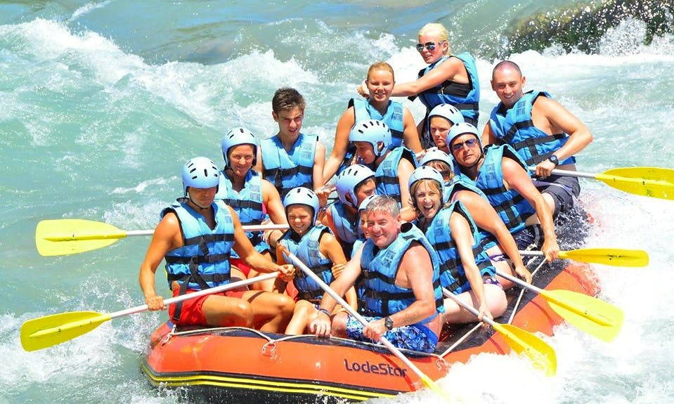 Very Cool Rafting tour in Antalya, Turkey