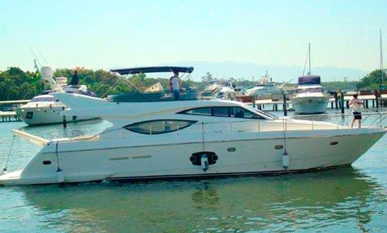 An Amazing Charter Experience In Angra Dos Reis, Brazil On Ferretti 60 Power Mega Yacht