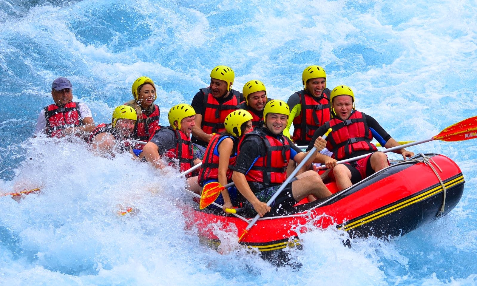 Hit the water Rafting in Antalya, Turkey