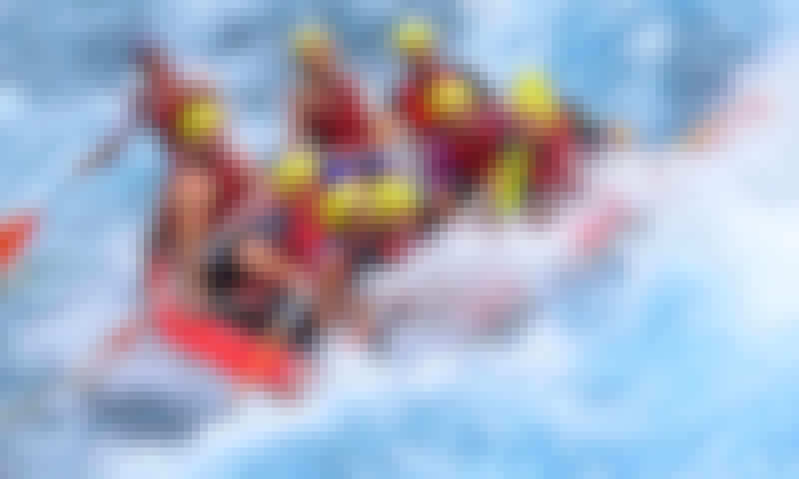 Hit the water Rafting in Antalya, Turkey